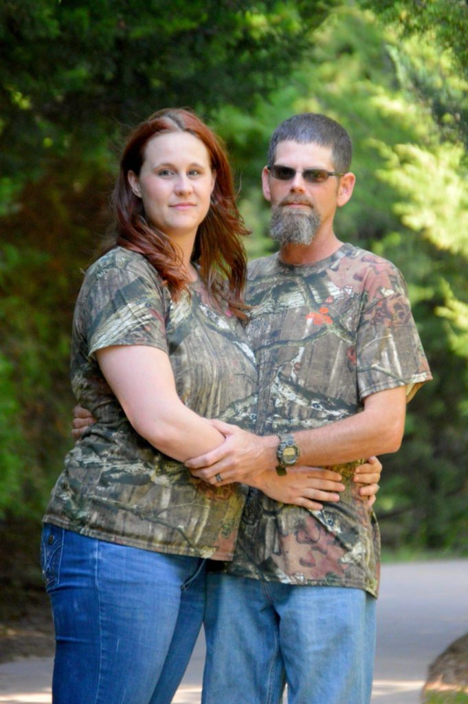Couple starting their marriage